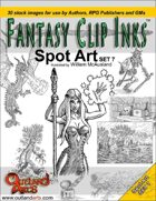 Fantasy Clip Inks:: Spot Art Set 7