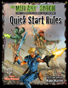 The Mutant Epoch RPG Quick Start Rules
