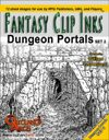 Fantasy Clip Inks:: Dungeon Portals set 2