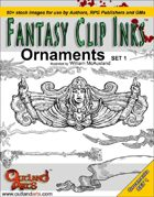 Fantasy Clip Inks:: Ornaments set 1
