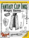 Fantasy Clip Inks:: Magic Items set 2