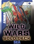 Wild Wars - Beginner Solo Deck - Sea