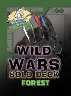 Wild Wars - Beginner Solo Deck - Forest