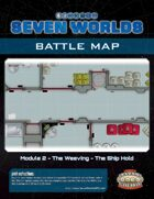 Seven Worlds Battlemap 08 - Spaceship Hold