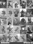 RPG Character Art Pack - Volume II