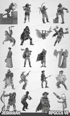 RPG Character Art Pack - Volume V