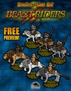 Monsters of the Game Mat: Beast Riders Preview