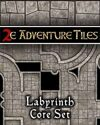2e Adventure Tiles: Labyrinth Core Set
