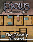 Ptolus Adventure Maps: The Ghostly Minstrel
