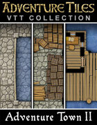 Adventure Tiles VTT Collection: Adventure Town II
