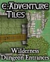 e-Adventure Tiles: Wilderness Dungeon Entrances
