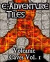 e-Adventure Tiles: Volcanic Caves Vol. 1