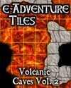 e-Adventure Tiles: Volcanic Caves Vol. 2