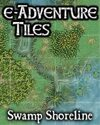 e-Adventure Tiles: Swamp Shoreline