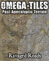 OMEGA-TILES 01: Ravaged Roads on RPGNow.com
