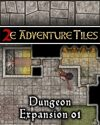 2e Adventure Tiles: Dungeon Expansion 01