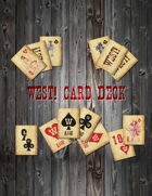 West! card deck