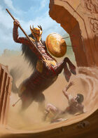Cover full page - Centaur- RPG Stock Art