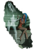 Character - Melpomene - RPG Stock Art