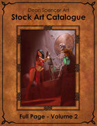 Catalogue - Colour Full Page Volume 2 - RPG Stock Art