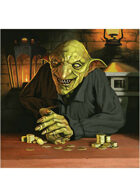 Colour card art - character: goblin merchant - RPG Stock Art