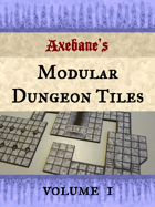 Axebanes Modular Dungeon Tiles Vol1