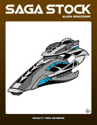 Saga Stock (Alien Spacecraft)