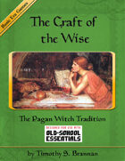 The Craft of the Wise: The Pagan Witch Tradition