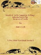 World Of Jorth Campaign Setting: Introduction to the Dwarves of Jorth