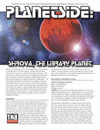 Planetside: Shirova, The Library Planet