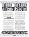 The True Arcane Story: Cape of the Mountebank
