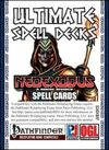 Ultimate Spell Decks: NeoExodus Spell Cards (PFRPG)