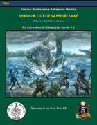 TG3 Shadow Out of Sapphire Lake (5E)