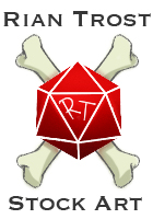 Rian Trost RPG Stock Art