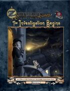 ZEITGEIST: The Gears of Revolution - Act One: The Investigation Begins (4e)