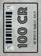 Tabletop Money 100 Credit Deck (40 Cards)
