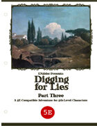 ZEITGEIST #3.3: Digging For Lies (5th Edition)