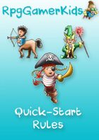 RpgGamerKids Quick-Start Rules