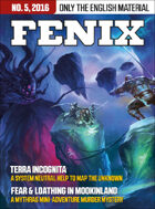 Fenix English Edition 5, 2016