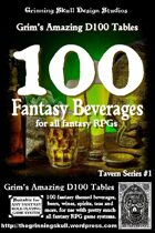 100 Fantasy Beverages for all Fantasy RPGs