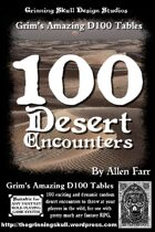 100 Desert Encounters for all fantasy RPGs