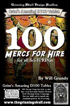 100 Mercs for Hire for all Sci-fi RPGs