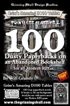 100 Dusty Paperbacks on an Abandoned Bookshelf for all Modern RPGs