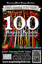 100 Magical Swords for any fantasy RPG Campaign