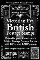 LARP LAB: Going Postal: Victorian Era British postage Stamps, printable props