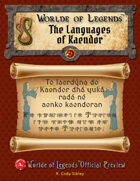 Worlde of Legends™ Preview - Languages of Kaendor™