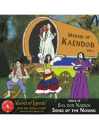 MP3: Music of Kaendor 15 - San dor Naerok - Song of the Nomad