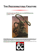 Pseudonatural Creature Template