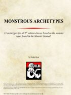 Monstrous Archetypes