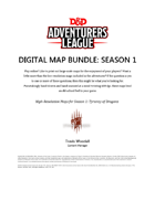 Digital Maps: Season 1 (Tyranny of Dragons)